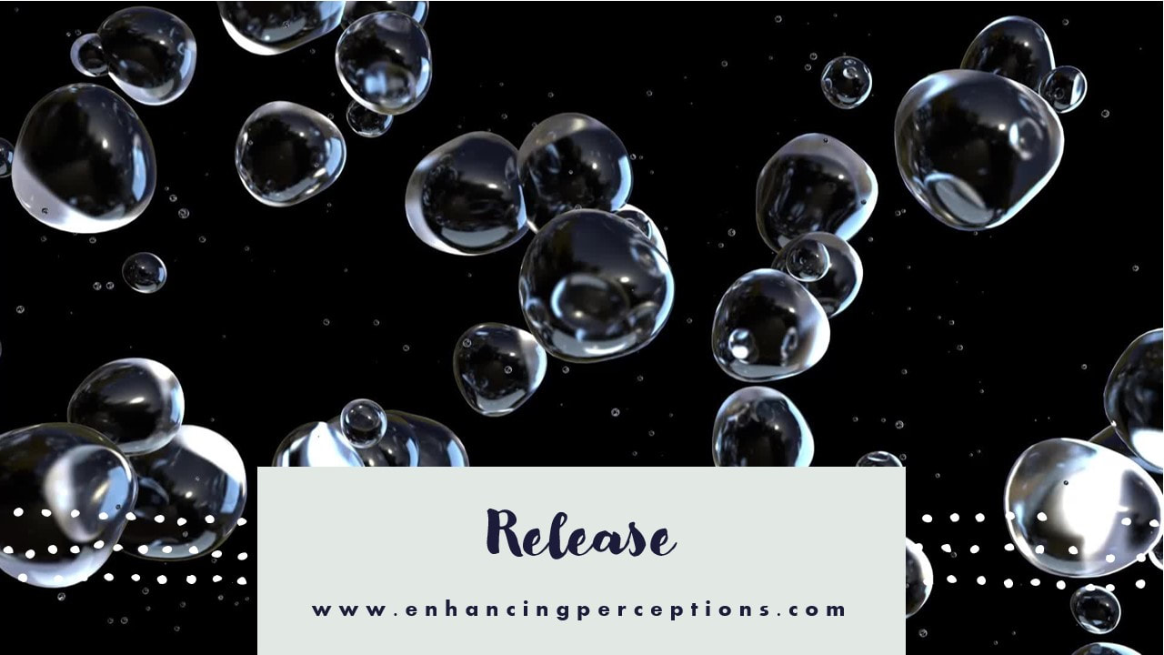 Release what you cannot control. Worry has no positive outcome but many negative side effects. Enhancing Perceptions Hypnosis